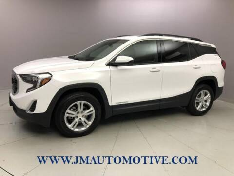 2018 GMC Terrain for sale at J & M Automotive in Naugatuck CT