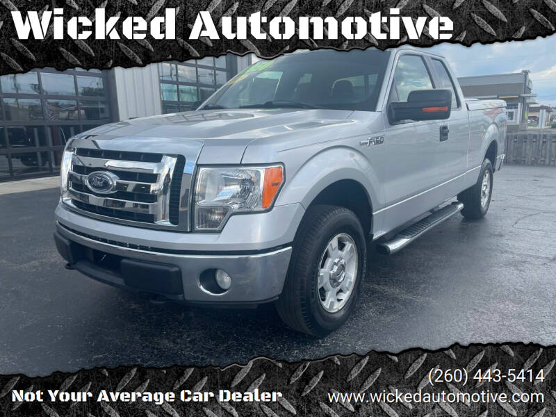 2010 Ford F-150 for sale at Wicked Automotive in Fort Wayne IN