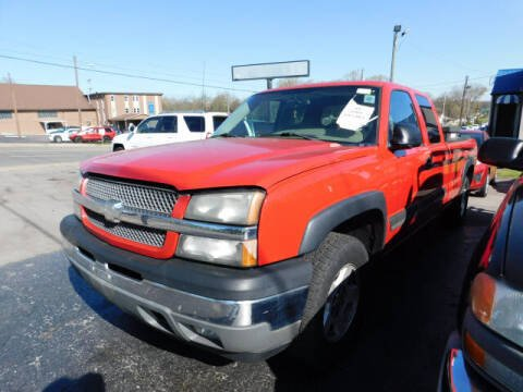 2005 Chevrolet Silverado 1500 for sale at WOOD MOTOR COMPANY in Madison TN