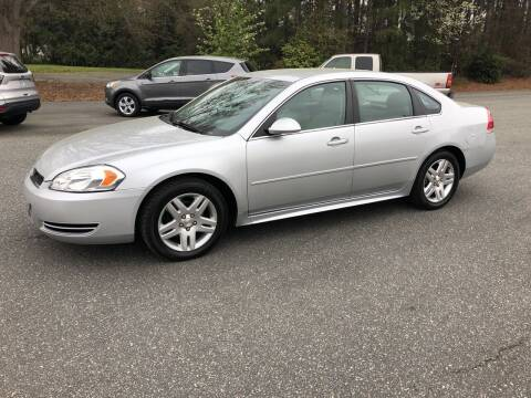 2015 Chevrolet Impala Limited for sale at Dorsey Auto Sales in Anderson SC