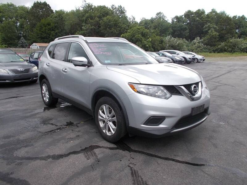 2016 Nissan Rogue for sale at MATTESON MOTORS in Raynham MA