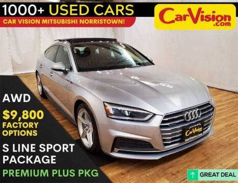 2018 Audi A5 Sportback for sale at Car Vision Buying Center in Norristown PA