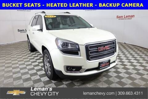 2015 GMC Acadia for sale at Leman's Chevy City in Bloomington IL