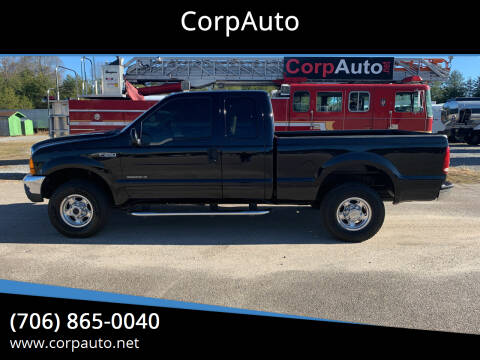 2001 Ford F-250 Super Duty for sale at CorpAuto in Cleveland GA