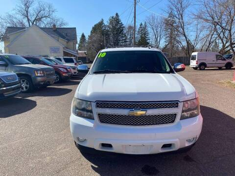 2010 Chevrolet Tahoe for sale at WB Auto Sales LLC in Barnum MN