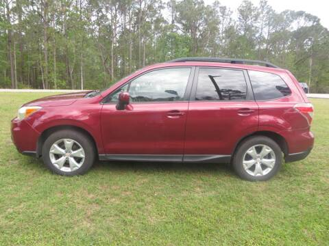 2015 Subaru Forester for sale at Ward's Motorsports in Pensacola FL