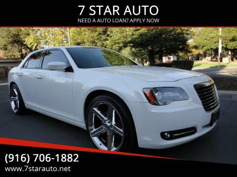 2014 Chrysler 300 for sale at 7 STAR AUTO in Sacramento CA