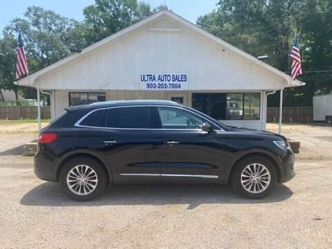 2016 Lincoln MKX for sale at ULTRA AUTO SALES in Whitehouse TX