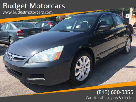 2006 Honda Accord for sale at Budget Motorcars in Tampa FL