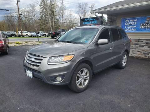 2012 Hyundai Santa Fe for sale at AFFORDABLE IMPORTS in New Hampton NY