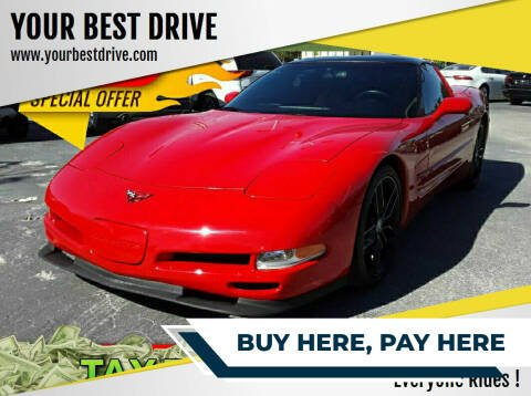 2002 Chevrolet Corvette for sale at YOUR BEST DRIVE in Oakland Park FL