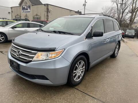 2011 Honda Odyssey for sale at T & G / Auto4wholesale in Parma OH