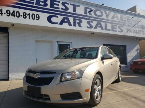 2011 Chevrolet Cruze for sale at Best Royal Car Sales in Dallas TX