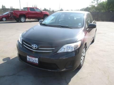 2013 Toyota Corolla for sale at Quick Auto Sales in Modesto CA