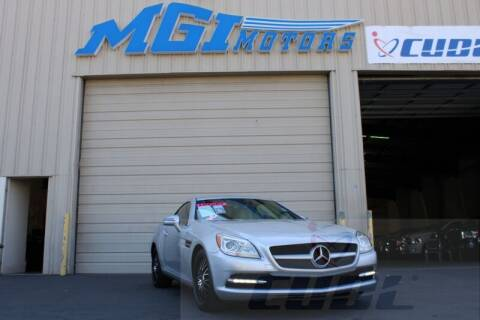2012 Mercedes-Benz SLK for sale at MGI Motors in Sacramento CA