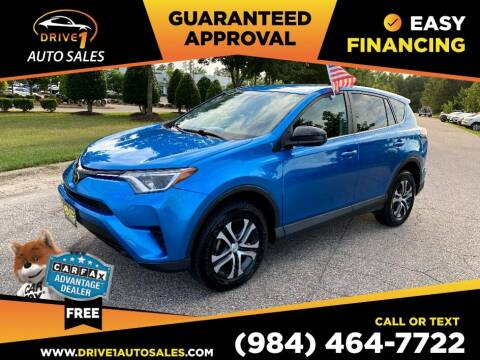 2017 Toyota RAV4 for sale at Drive 1 Auto Sales in Wake Forest NC