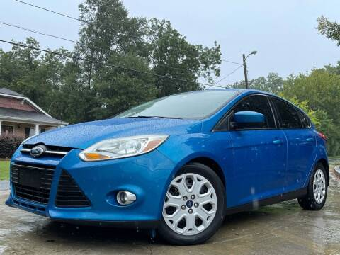 2012 Ford Focus for sale at E-Z Auto Finance in Marietta GA