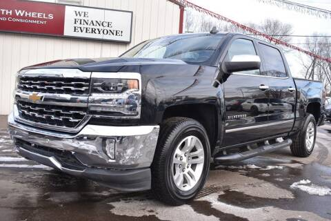 2018 Chevrolet Silverado 1500 for sale at Dealswithwheels in Inver Grove Heights MN