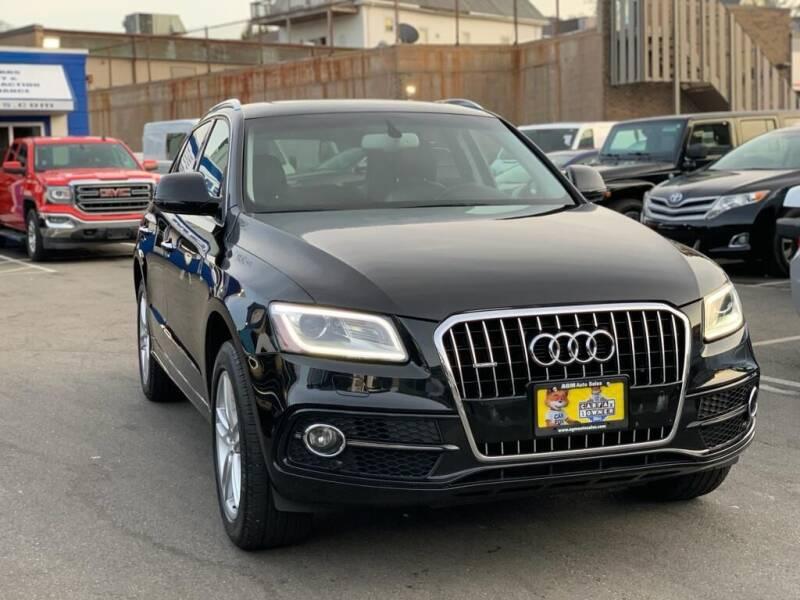 2015 Audi Q5 for sale at AGM AUTO SALES in Malden MA