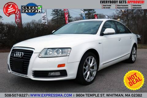 2010 Audi A6 for sale at Auto Sales Express in Whitman MA