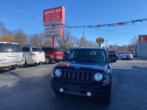 2011 Jeep Patriot for sale at Parkside Auto Sales & Service in Pekin IL