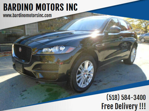 2020 Jaguar F-PACE for sale at BARDINO MOTORS INC in Saratoga Springs NY
