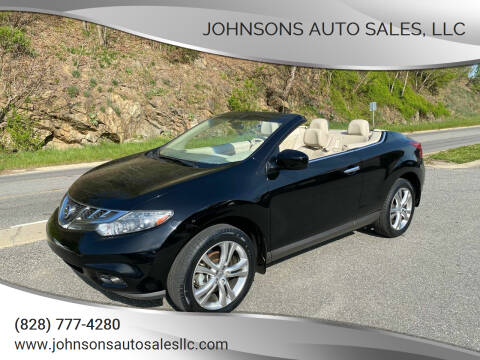 2011 Nissan Murano CrossCabriolet for sale at Johnsons Auto Sales, LLC in Marshall NC