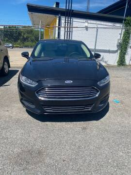 2015 Ford Fusion for sale at E-Z Pay Used Cars in McAlester OK
