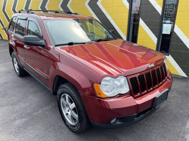 2008 Jeep Grand Cherokee for sale at MIRACLE AUTO SALES in Cranston RI