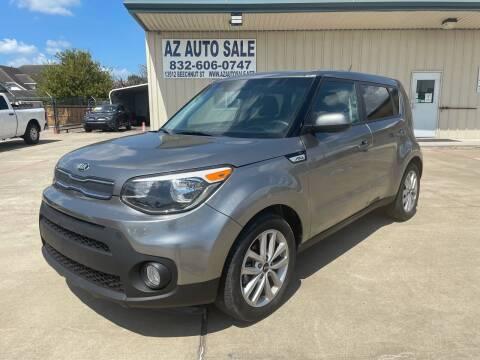 2019 Kia Soul for sale at AZ Auto Sale in Houston TX