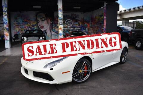 2017 Ferrari 488 Spider for sale at ELITE MOTOR CARS OF MIAMI in Miami FL
