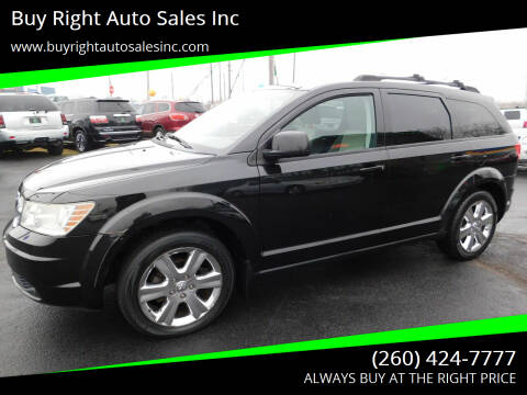 2009 Dodge Journey for sale at Buy Right Auto Sales Inc in Fort Wayne IN