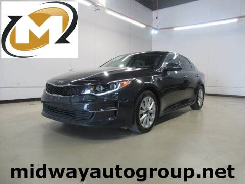 2016 Kia Optima for sale at Midway Auto Group in Addison TX