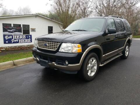 2003 Ford Explorer for sale at TR MOTORS in Gastonia NC