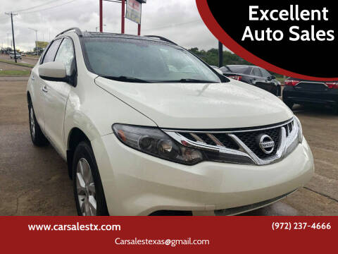 2014 Nissan Murano for sale at Excellent Auto Sales in Grand Prairie TX