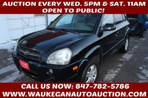 2007 Hyundai Tucson for sale at Waukegan Auto Auction in Waukegan IL
