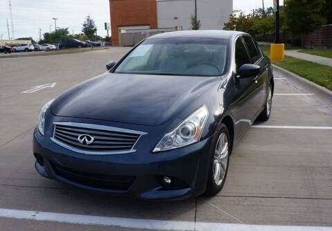 2012 Infiniti G37 Sedan for sale at International Auto Sales in Garland TX