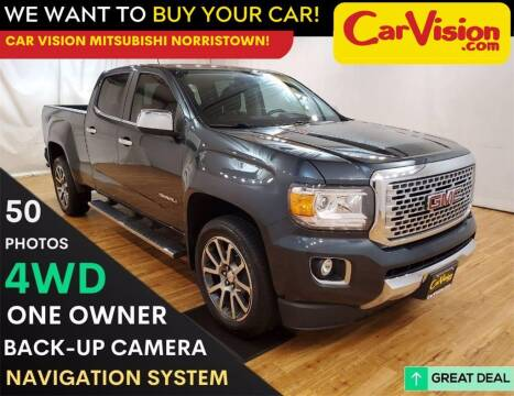 2017 GMC Canyon for sale at Car Vision Mitsubishi Norristown in Trooper PA