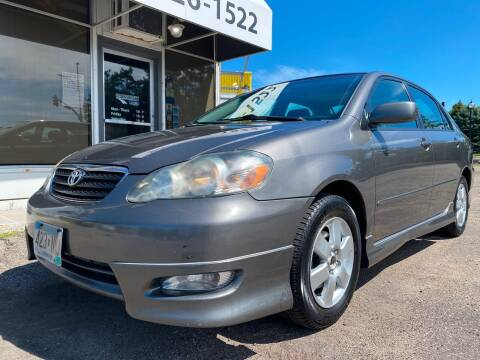 2007 Toyota Corolla for sale at Mainstreet Motor Company in Hopkins MN