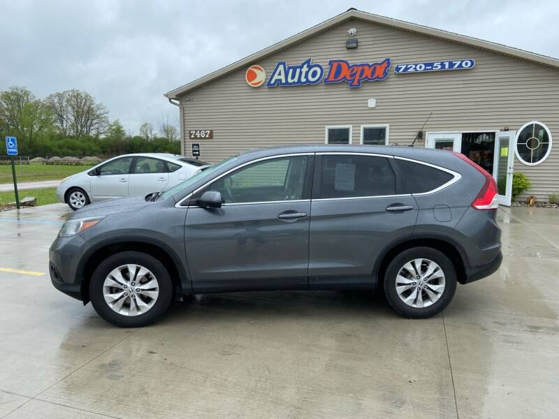 2012 Honda CR-V for sale at The Auto Depot in Mount Morris MI