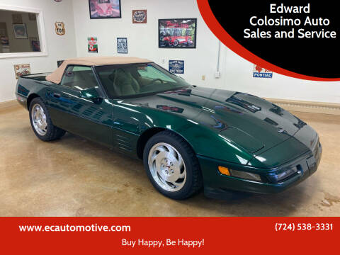 1994 Chevrolet Corvette for sale at Edward Colosimo Auto Sales and Service in Evans City PA