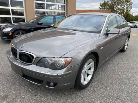 2007 BMW 7 Series for sale at MAGIC AUTO SALES - Magic Auto Prestige in South Hackensack NJ