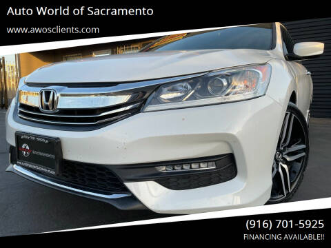 2017 Honda Accord for sale at Auto World of Sacramento Stockton Blvd in Sacramento CA
