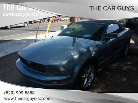2005 Ford Mustang for sale at The Car Guys in Tucson AZ
