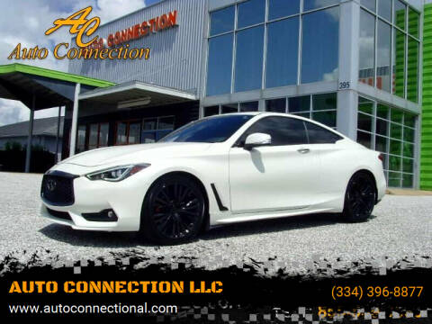2018 Infiniti Q60 for sale at AUTO CONNECTION LLC in Montgomery AL