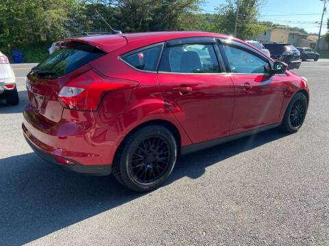 2012 Ford Focus for sale at Elite Auto Sales Inc in Front Royal VA