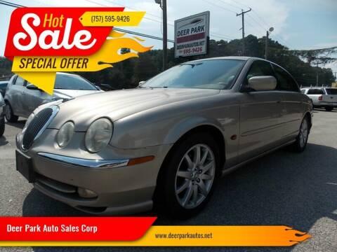 2001 Jaguar S-Type for sale at Deer Park Auto Sales Corp in Newport News VA
