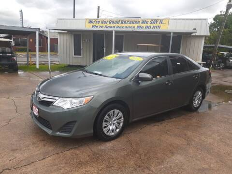 2012 Toyota Camry for sale at Taylor Trading Co in Beaumont TX