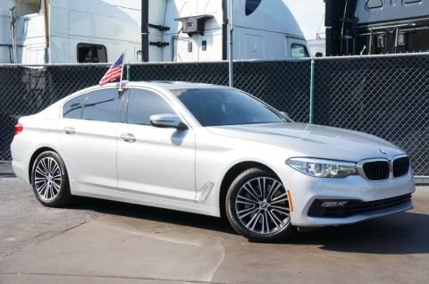 2018 BMW 5 Series for sale at MATRIX AUTO SALES INC in Miami FL
