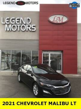 2021 Chevrolet Malibu for sale at Legend Motors of Ferndale in Ferndale MI